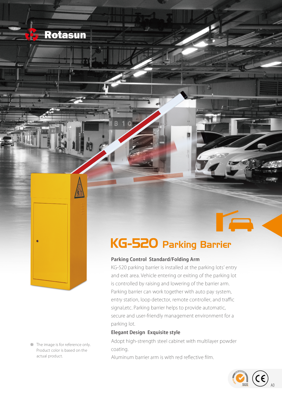 Barrier Gate KG-520 - Made in Taiwan