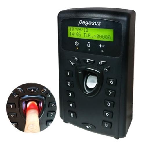 Bộ điều khiển + Máy chấm công vân tay chuẩn giao tiếp TCP/IP Pegasus PFP-3702V