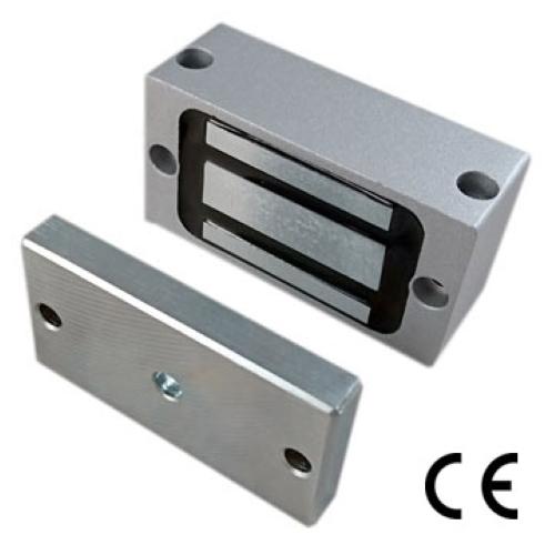 Secure Electronic Cabinet Lock 100Lbs (45kgs) Mini Electromagnetic Lock PML-080A